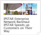 IPSTAR enterprise network backhaul